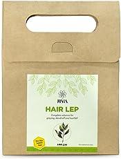 Jiva Ayurveda Hair Lep with Multani Mitti for Long, Healthy and Strong Hair   Hair fall Control   Repairs damaged hair