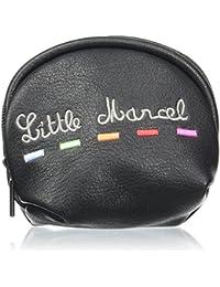 Little Marcel femme Jody Porte-monnaie Noir (Black)