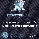 Proto Max Nanotol Revêtement nano Spray pour moto: Casque Moto, casque visiere, casque intégral & visiere (20ml/100Ml)