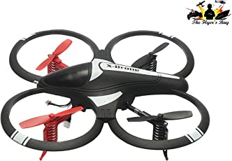 The Flyers Bay Hoten X Mini Quadcopter with Blade Protection and LED Lights, Multi Color