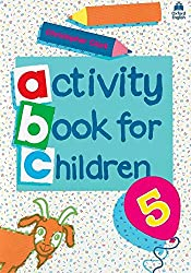 ACTIVITY BOOK FOR CHIDREN. : Tome 5