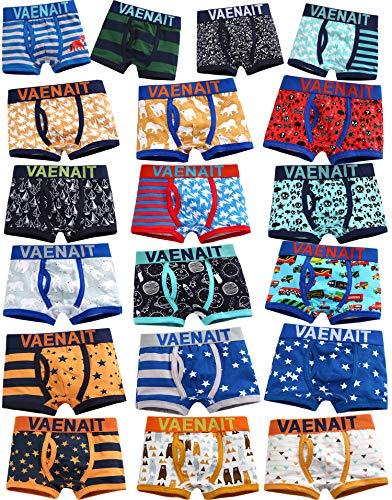 Kinder Jungen Boy Underwear Set 7 Pack Random Daily Boxer L