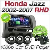 Autoradio DVD MP3Head Unit Honda Jazz Fit 2002-2007kit radio stereo