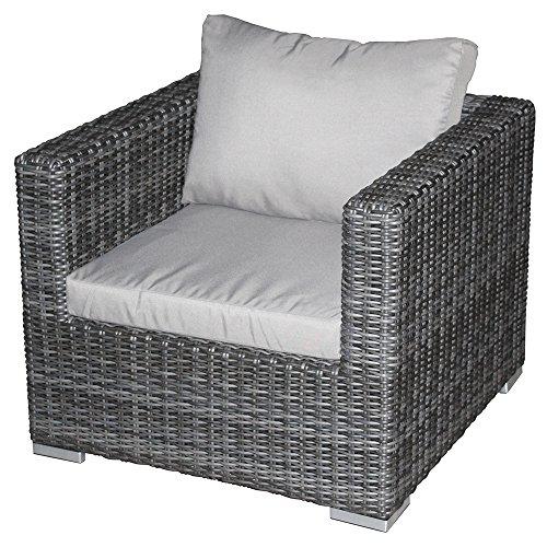 Zebra Jack Lounge Einzelsessel taupe - Lounge Zebra