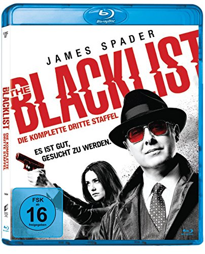 The Blacklist - Staffel 3 (6 Discs) [Blu-ray]
