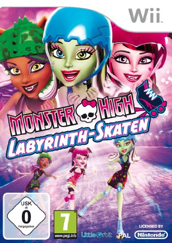 Monster High - Labyrinth-Skaten