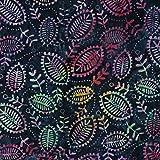 Schwarz Venus Design 100% Baumwolle Bali Batik tie dye Muster Stoff für Patchwork, Quilten &,–(Preis pro/Quarter Meter)