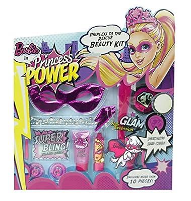 Barbie 9521610 Coffret de Beauté Princesse À la Rescousse 11 unités