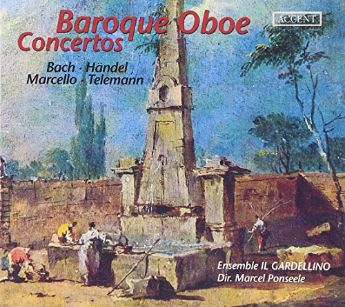 Baroque Oboe Concertos - Werke von Bach, Telemann, Marcello und Händel