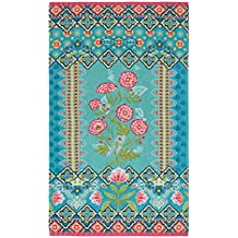Pip Studio Darjeeling Flower Beach Towel 100 x 180 cm Multi-Coloured
