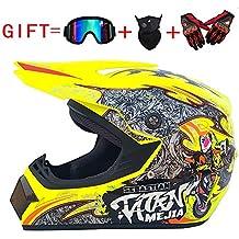 hot sale online 528fe 47fff Amazon.it: occhiali per casco da cross