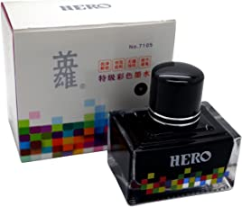 Success Stationery Hero Fountain Pen Extra Colour Noncarbon Nonblocking ink - 7105
