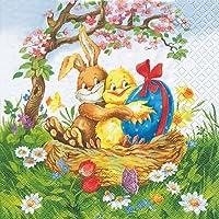20 Servietten Easter friends – Osterfreunde / Ostern 33x33cm