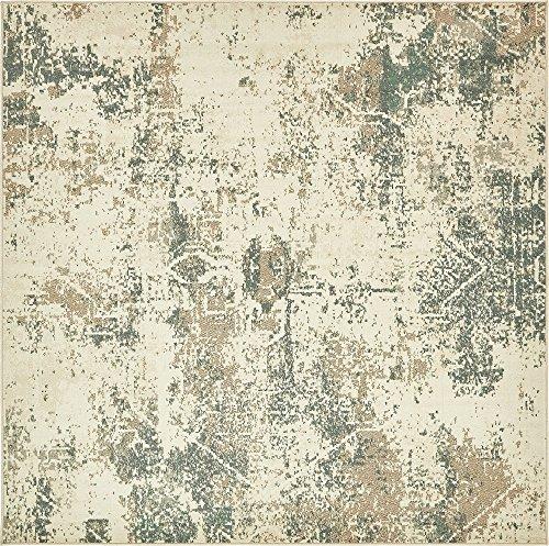 8 Square-beige-teppich (Traditionelle Sahara Bereich Teppich, beige, 8 x 8 square)
