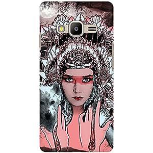 URBAN KOLOURS Original Designer Printed Hard Case Back Cover for Samsung Z2 (Cleopatra)