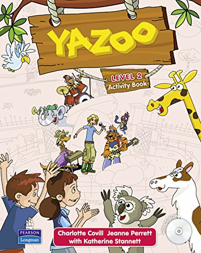 Yazoo Global Level 2 Activity Book and CD ROM Pack