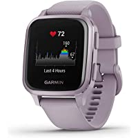 Garmin Venu Sq GPS Smartwatch with All-day Health Monitoring and Fitness Features, Built-in Sports Apps and More, Orchid…