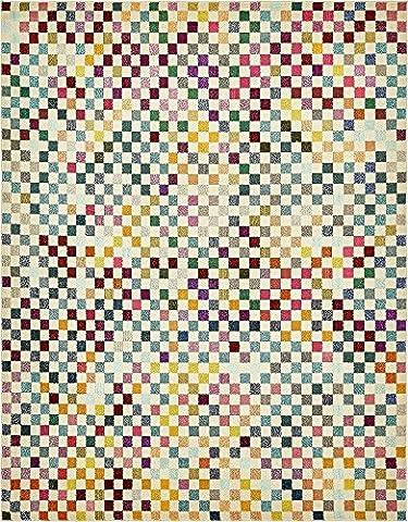 Moderne geometrische Geschenkpapierrolle 244cm von 3m wahr (8