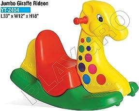 Playgro Jumbo Giraffe Rocker with Handle - Multicolor PGS-2404 (Color May Vary)