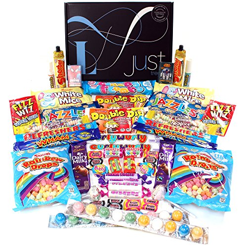 Retro Sweets Lunar Share Hamper - A Selection Box Perfect for 2 - Contains 2 of Everything