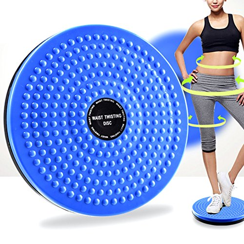 Superior Performance Fitness, Running & Yoga Friendly Waist Twister Exercise Magnetic Therapy Twisting Disc Figure Trimmer One Color