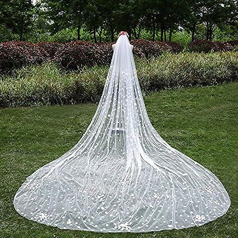 Matrimonio di lusso Accessori avorio Super Long