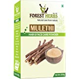The Forest Herbs 100% Organic Licorice Root Powder - Mulethi Powder for Face, Hair Care 100Gms