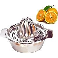 ALEENFOON Professionnel Inox Presse-Agrumes Manuel Chaux Orange Juicer / Presse-Citron / Presse Fruit Avec Bol Pour La…