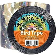 Cinta Holográfica de Doble Cara para espantar Aves, ...