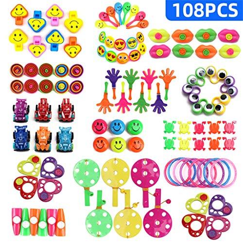 Preise für Kinder Geburtstag Party Gefälligkeiten Box Spielzeug Sortiment Kind Anzug Geschenk Puzzle Kleines spielzeug 108PCS -