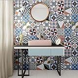 JY ART VZYX Fliesenaufkleber Dekorative Wandgestaltung mit Fliesenaufklebern für Küche und Bad, Deko-Fliesenfolie für Küche u. Europäische Dekoration CZ052, 20cm*100cm*2pcs