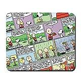 CafePress–Peanuts Classic Comics–rutschfeste Gummi Mauspad, Gaming Maus Pad