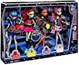 Monster High Ghoul's Night Out 4 Doll Set Rochelle Goyle - Clawdeen Wolf - Ghoulia Yelps & Venus McFlytrap