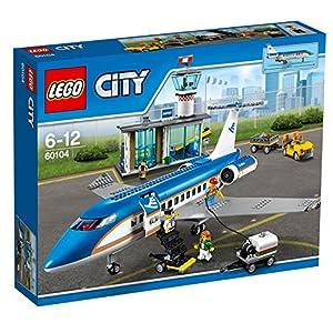 LEGO city Terminal Passeggeri Costruzioni Gioco Bambina Giocattolo, Multicolore, 60104 5702015591720 LEGO