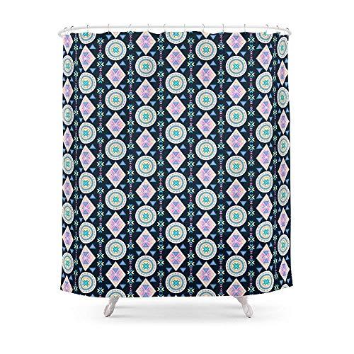 Suminla-Home Badezimmer Dancing Diamonds by Everett CO Vorhang für die Dusche 182,9cm von 182,9cm Sun Diamond Girl