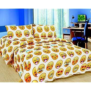 Emoji Sheet Set. Rayyan Linens Emoji Emotion Smiley Faces ...
