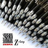 Z-Grip Retractable Ballpoint Pen - Economy Pack of 40 - Black