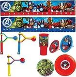 Amscan Mitgebselset Avengers Assemble