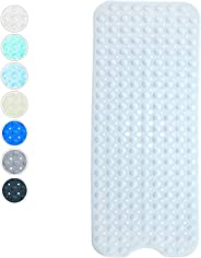 Non-Slip Bathtub and Shower Mat with 200 Suction Cups Anti-slip Bath Mat for Tub and Shower Machine Washable 100 x 40 cm