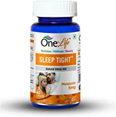 Onelife Sleep Tight 5Mg : Melatonin - 5 Mg, 60 Tablets