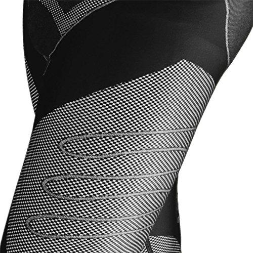 BlackSnake® Funktionsunterwäsche Herren Unterhosen Seamless Sport Unterwäsche Schwarz