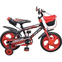 Kingston Kids Cycle 14 inch for 3 to 5 Years for Boys & Girls (SEMI Assembled) Rim Tubeless Tyre
