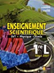 Enseignement scientifique 1e L : SVT...