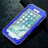 Blau Galaxy S8IP-68Wasserdichte Schutzhülle für iPhone 766S Plus Unterwassertasche für Samsung S8Plus S7S6Edge Plus S5S4S3Note 54Cases-1PCS