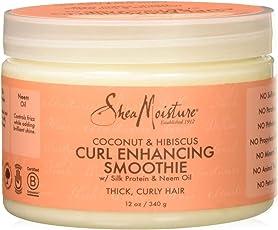 Fetish Shea Moisture Coconut Hibiscus Curl Enhancing Smoothie Silk Protein & Neem Oil, 340G
