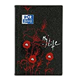 Oxford Blooming Agenda Scolaire Journalier 2018-2019 1 Jour par Page 352 Pages 12 x 18 cm motif My Life