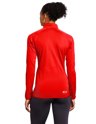 Salomon Damen XA Midlayer Half Zip Matador-X