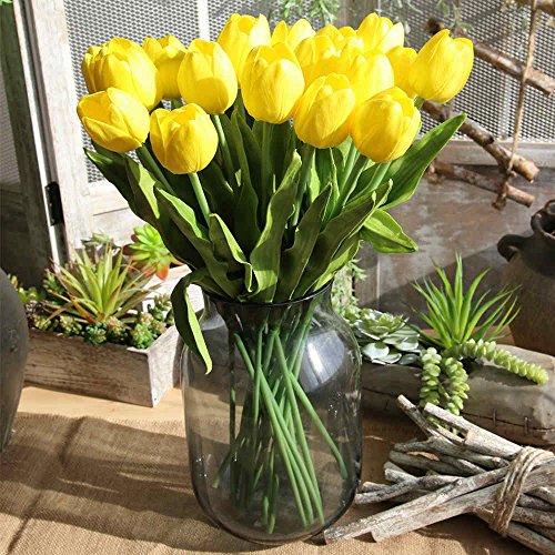 Unechte Blumen,Künstliche Deko Blumen Gefälschte Blumen Blumenstrauß 19.9