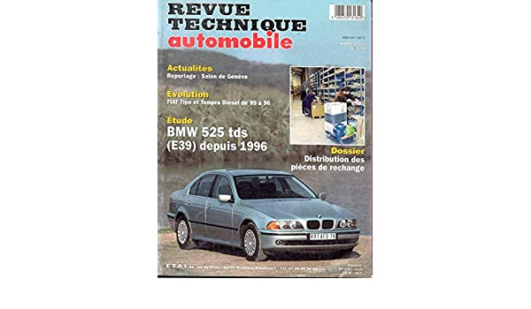 BMW TÉLÉCHARGER REVUE E39 TECHNIQUE 525D