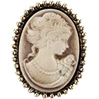 Spille Spilla Pin Brooch Boutonniere Colori Assortiti Testa di Regina Ritratto Ritratto Stile Vintage Cammeo Spilla…